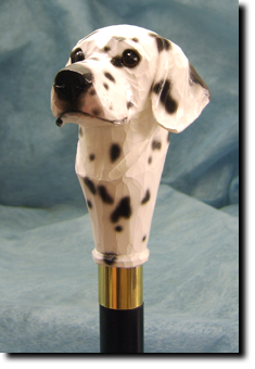 Dalmatian Dog Breed Walking Stick