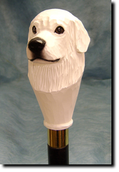 Great Pyrenees Dog Breed Walking Stick