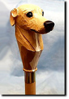 Greyhound Dog Breed Walking Stick
