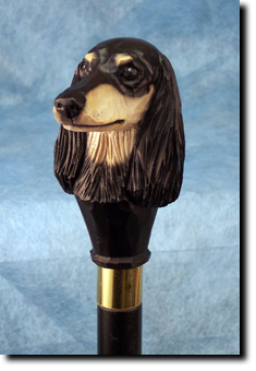 Saluki Dog Breed Walking Stick
