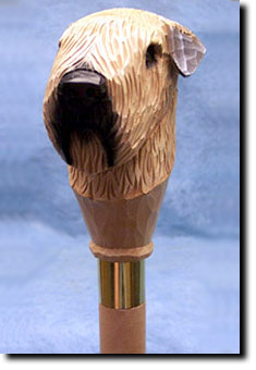 Soft Coated Wheaten Terrier Dog Breed Walking Stick