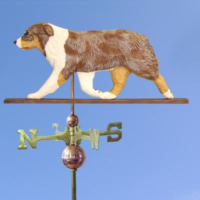 Australian Shepherd Dog Weathervane