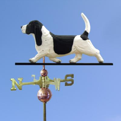Basset Hound Dog Weathervane