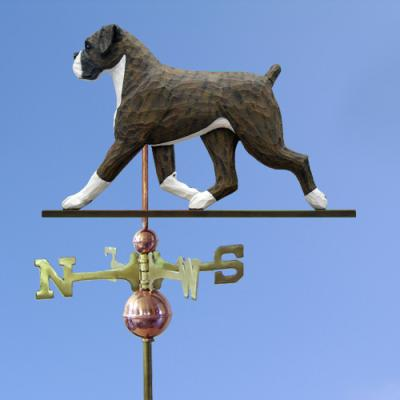 Boxer, Natural Dog Weathervane