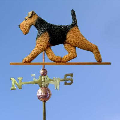 Welsh Terrier Dog Weathervane