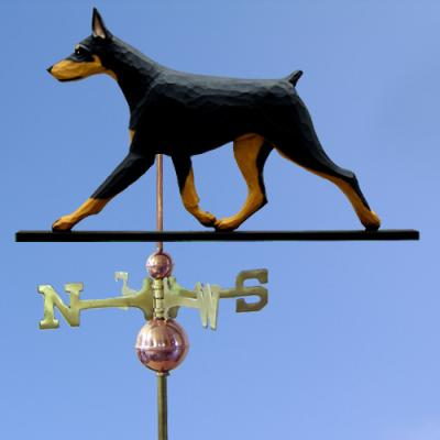 Doberman Pinscher Dog Weathervane