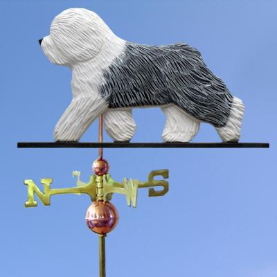 Old English Sheepdog Dog Weathervane
