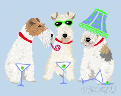 Wire Fox Terrier Party Animal