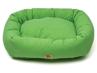 Bumper Dog Bed - Cotton - Emerald