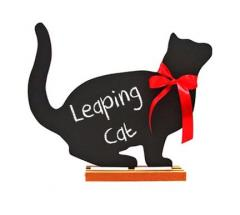 Leaping Cat Chalkboard