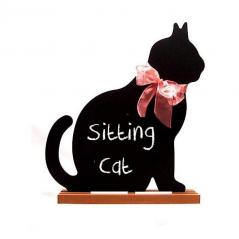 Sitting Cat Chalkboard