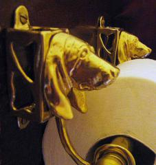Basset Hound Toilet Paper Holder