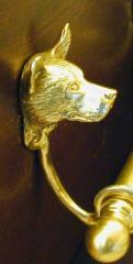 Australian Cattle Dog Bronze Door Knocker