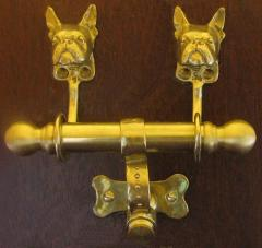 Boston Terrier Dog Breed Door Knocker