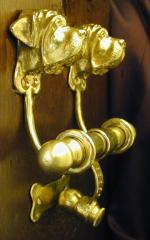 Mastiff Deluxe Dog Breed Door Knockers