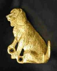 American Water Spaniel Bronze Dog Hook