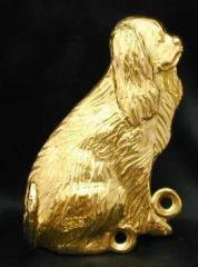 Cavalier King Charles Spaniel Bronze Dog Hook