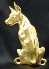 Great Dane  Bronze Dog Hook