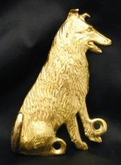 Collie - Smooth Bronze Dog Hook