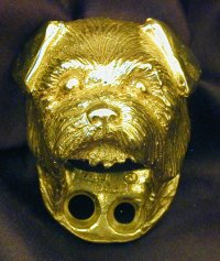 Norfolk Terrier Drawer Pull