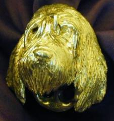 Otterhound Drawer Pull