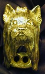 Yorkshire Terrier Drawer Pull