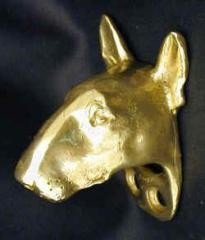 Bull Terrier Drawer Pull