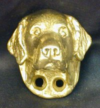 Golden Retriever Drawer Pull