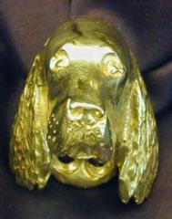 Irish Setter Drawer Pull