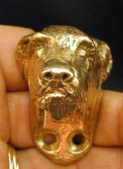 Irish Wolfhound Drawer Pull