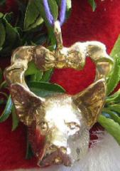Australian Cattle Dog Bronze Ornament