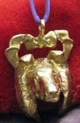 Collie Bronze Ornament