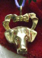 Doberman (Natural) Bronze Ornament