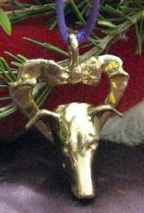Italian Greyhound Bronze Ornament