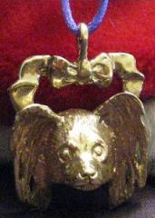 Papillon Bronze Ornament