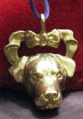 Rottweiler Bronze Ornament