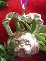 Shih Tzu Bronze Ornament