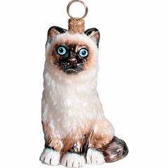 Birman Cat Ornament