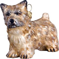 Wheaten Cairn Terrier Dog Ornament