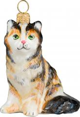 Maine Coon - Tortoise Shell Ornament