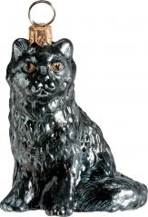 Black Maine Coon Cat Ornament