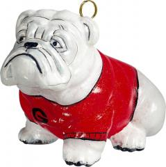 GA Bulldog Ornament