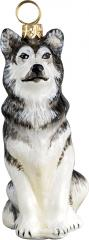 Alaskan Malamute Dog Ornament