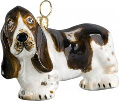 Basset Hound Dog Ornament