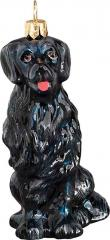 Flat Coated Retriever Dog Ornament