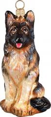 German Shepherd Dog Ornament