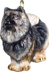 Keeshond Dog Ornament