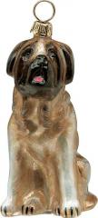 Mastiff Dog Ornament