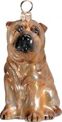 Shar Pei Dog Ornament