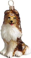 Shetland Sheepdog Dog Ornament
